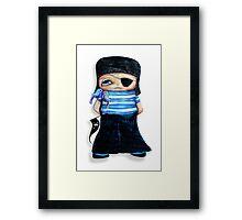 Pirate Chick Framed Print