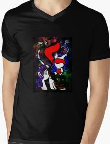 A Pony With A Little Flare Mens V-Neck T-Shirt