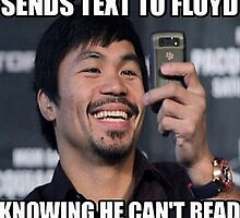 Mayweather Text by TeesUnited