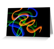 abstract light 1 Greeting Card