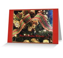 Have A Festive Holiday! Greeting Card