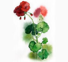 geraniums Womens Fitted T-Shirt