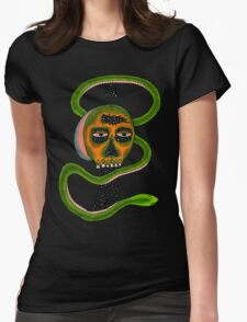 Insane Reptile Brain Womens Fitted T-Shirt