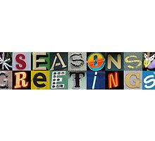 Season's Greetings by beanphoto
