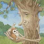 Healing Tree by JamesBrowneArt
