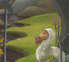 Dodo in Wonderland Sticker