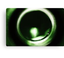 Abstract Glass Macro #34 Canvas Print