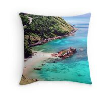 Tropical Zone Throw Pillow
