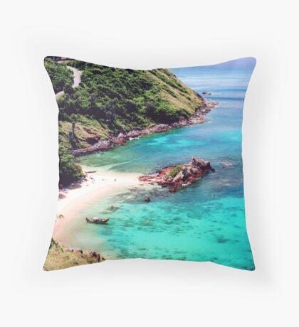 Tropical Zone Throw Pillow