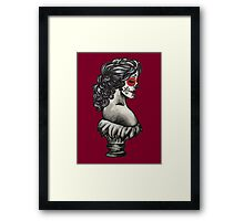 Sugar Skull Sweetheart Framed Print
