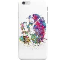 Beauty and the Beast Belle Disney Princess Watercolor iPhone Case/Skin