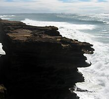 Crumbling Cliff by Cheryl Parkes