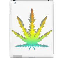 cannabis triangles iPad Case/Skin