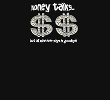 MONEY TALKS...  Womens Fitted T-Shirt
