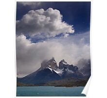 Cloud over Cuernos Poster