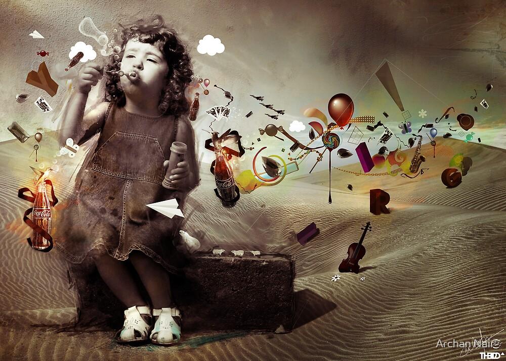 IMAGINATION by Archan Nair