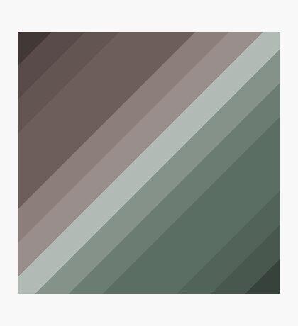 Vector Stripes - Modern Design by code-eeee Photographic Print