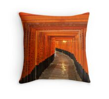 Fushimi Inari-Taisha Throw Pillow