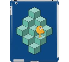 QBert is waiting... iPad Case/Skin