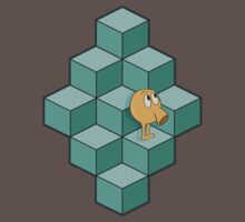 QBert is waiting... by Eric Hollaway