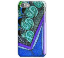 Bruton Blue 2 iPhone Case/Skin