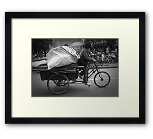 No Rest For The Blessed No. 2 Framed Print