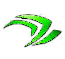 GeForce Logo Photographic Print