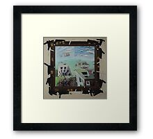 You Deliver Unmarried Children You Can't Be Buried Here Framed Print