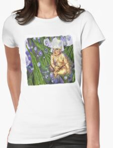 Faerie Baby, Lily Womens Fitted T-Shirt