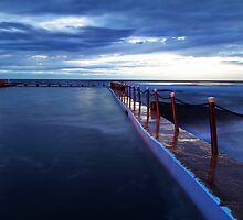 Protected Waters - Narrabeen, NSW by Malcolm Katon