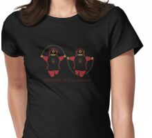 Kill Humans 2 Womens Fitted T-Shirt