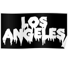 Los Angeles (White) Poster