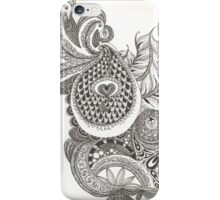 My Paisley Peacock Heart iPhone Case/Skin