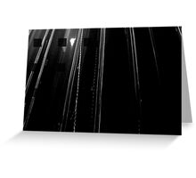 Light Rain Greeting Card