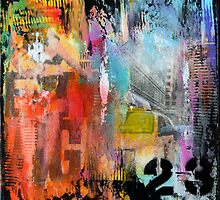 New York Times Square and Taxi Series #23 by modernhomedeco