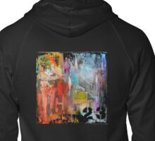 New York Times Square and Taxi Series #23 Zipped Hoodie