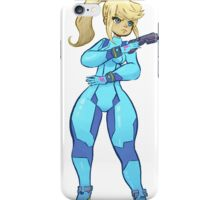 Zero Suit Samus Sticker iPhone Case/Skin