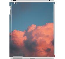 pink clouds iPad Case/Skin