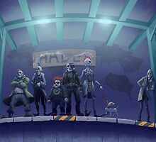 Hades Metro by fossfor