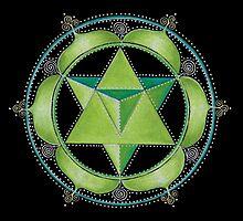 Heart Chakra Mandala by Laural Virtues Wauters