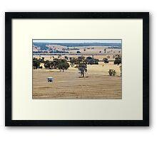 Mitre Rock Plains Framed Print