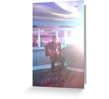 Oliver Wilde from Hilldrop Records Greeting Card