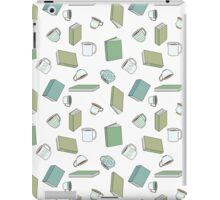 Books and Hot Beverages iPad Case/Skin