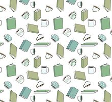 Books and Hot Beverages by Jessie Sima