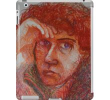 Red - Portrait Of A Woman iPad Case/Skin
