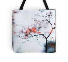 I see strawberries in the bokeh; Rikugien Park, Tokyo Tote Bag