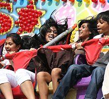 Fairground fun by borstal