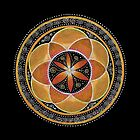 Sacral Chakra Mandala by Laural Virtues Wauters