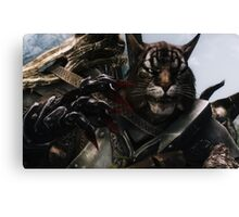 Khajiit Phone case Canvas Print