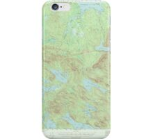 Maine USGS Historical Map Scraggly Lake 306759 1941 62500 iPhone Case/Skin